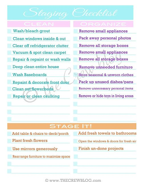 home staging printable free checklist stage your home | Home .