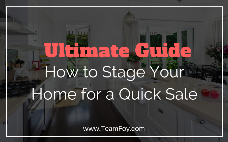 The Ultimate Home Staging Guide Checklist - Kevin Foy, Realtor .