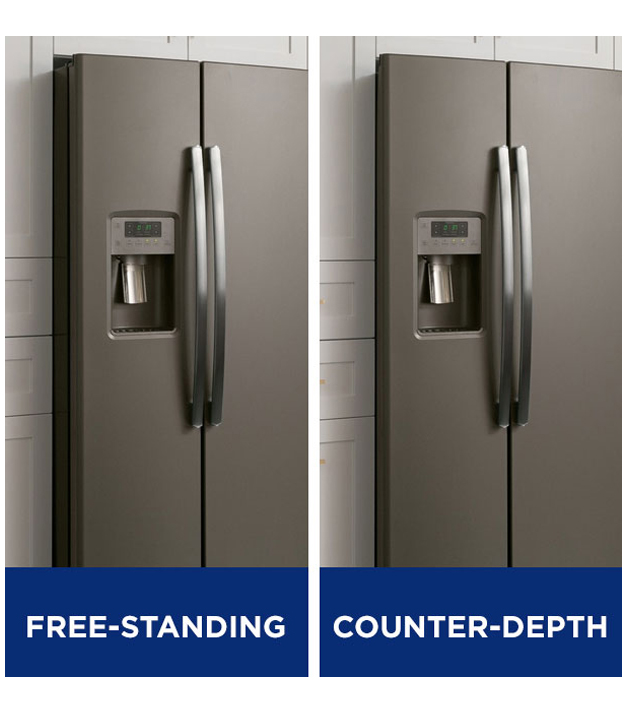What is the depth of a counter depth refrigerato