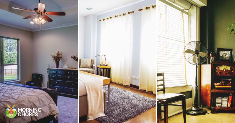 33 Simple Tips on How to Cool Down a Room Without
