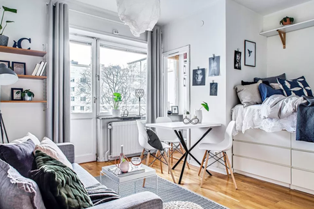 12 Perfect Studio Apartment Layouts That Wo