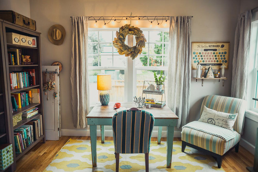 Successfully integrate maximalism into a   small home