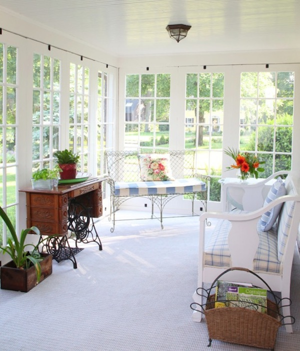 35 Beautiful Sunroom Design Ide