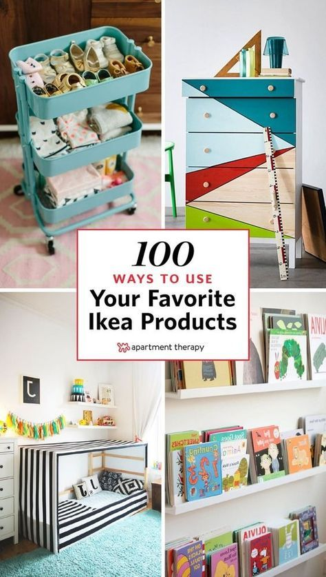 The Master Hack List: 100+ Ways to Use Your Favorite IKEA Products .