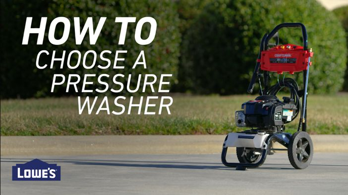 Pressure Washer Buying Gui