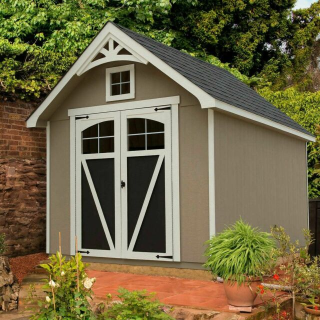 Wood Storage Shed for sale online | eB
