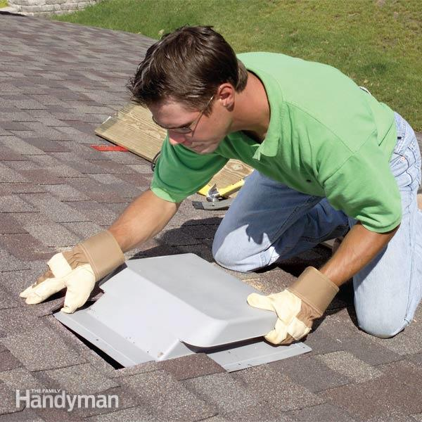 How to Improve Attic and Roof Ventilation | The Family Handym