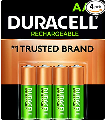 Amazon.com: Duracell - Rechargeable AA Batteries - long lasting .