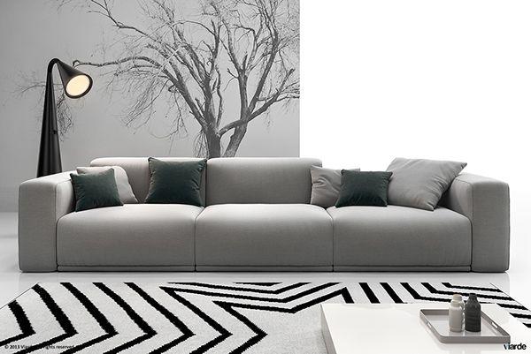 Poliform - Bolton on Behance | Дизайн дивана, Диван для гостиной .