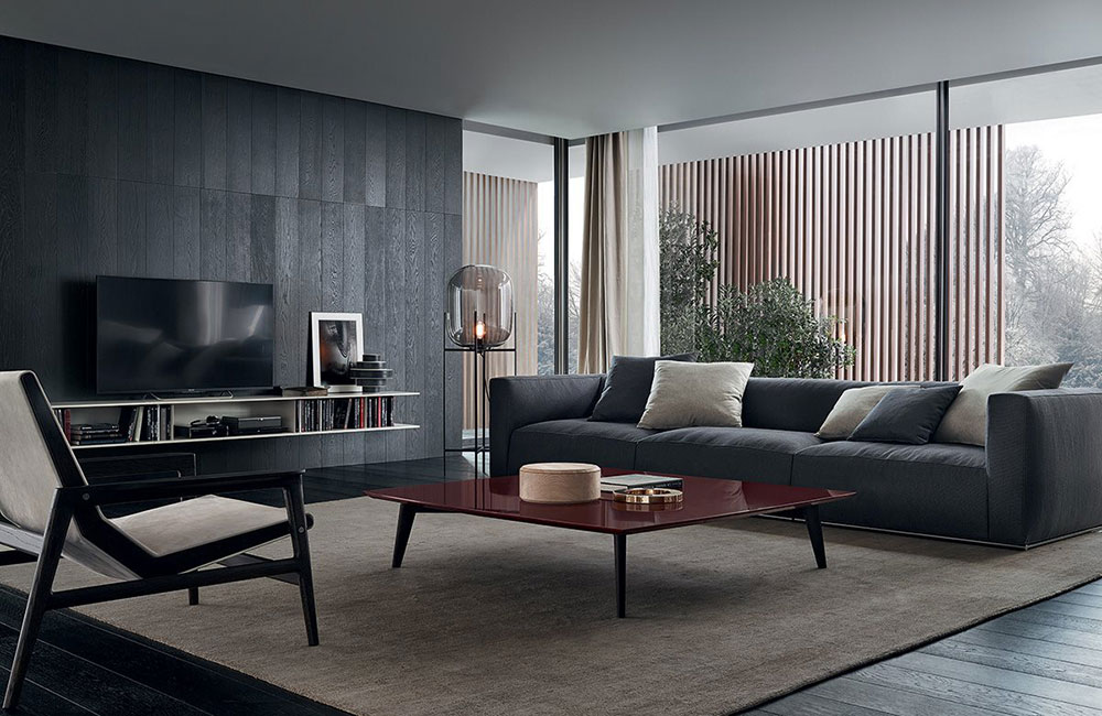 The specialties of the Poliform   contemporary sofas
