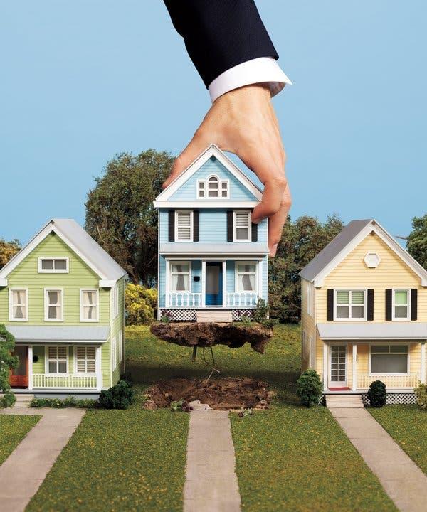 A $60 Billion Housing Grab by Wall Street - The New York Tim