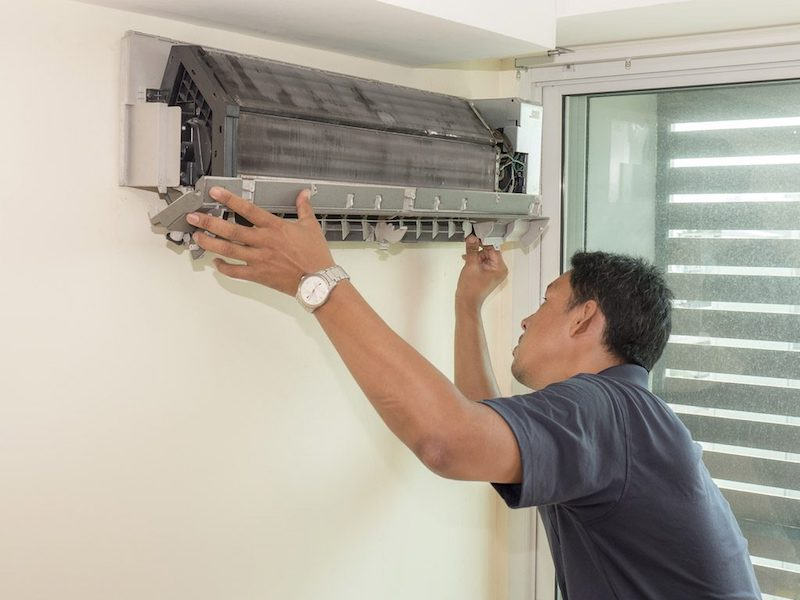 The top 5 signs you need to call a   technician for your AC unit
