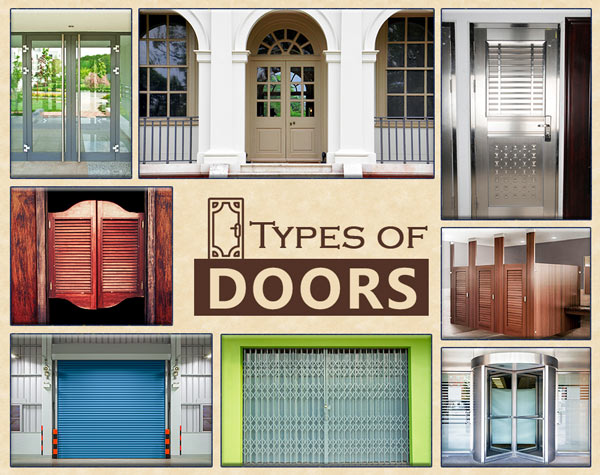 The types of doors that you can use in   your home design