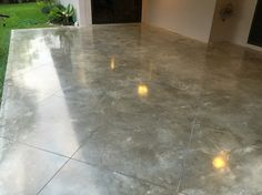 The understated beauty of polished   concrete