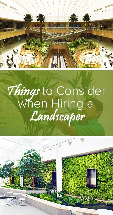 10 Things To Consider Before Hiring A Landscaping Company .