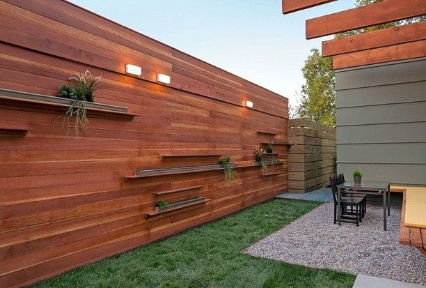 Horizontal Fence Ideas | ... Horizontal Wood Fence Panels .
