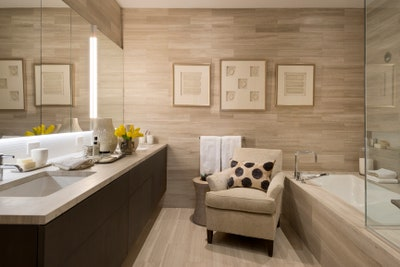 What Not to Do When Displaying Art in Your Bath | Architectural Dige