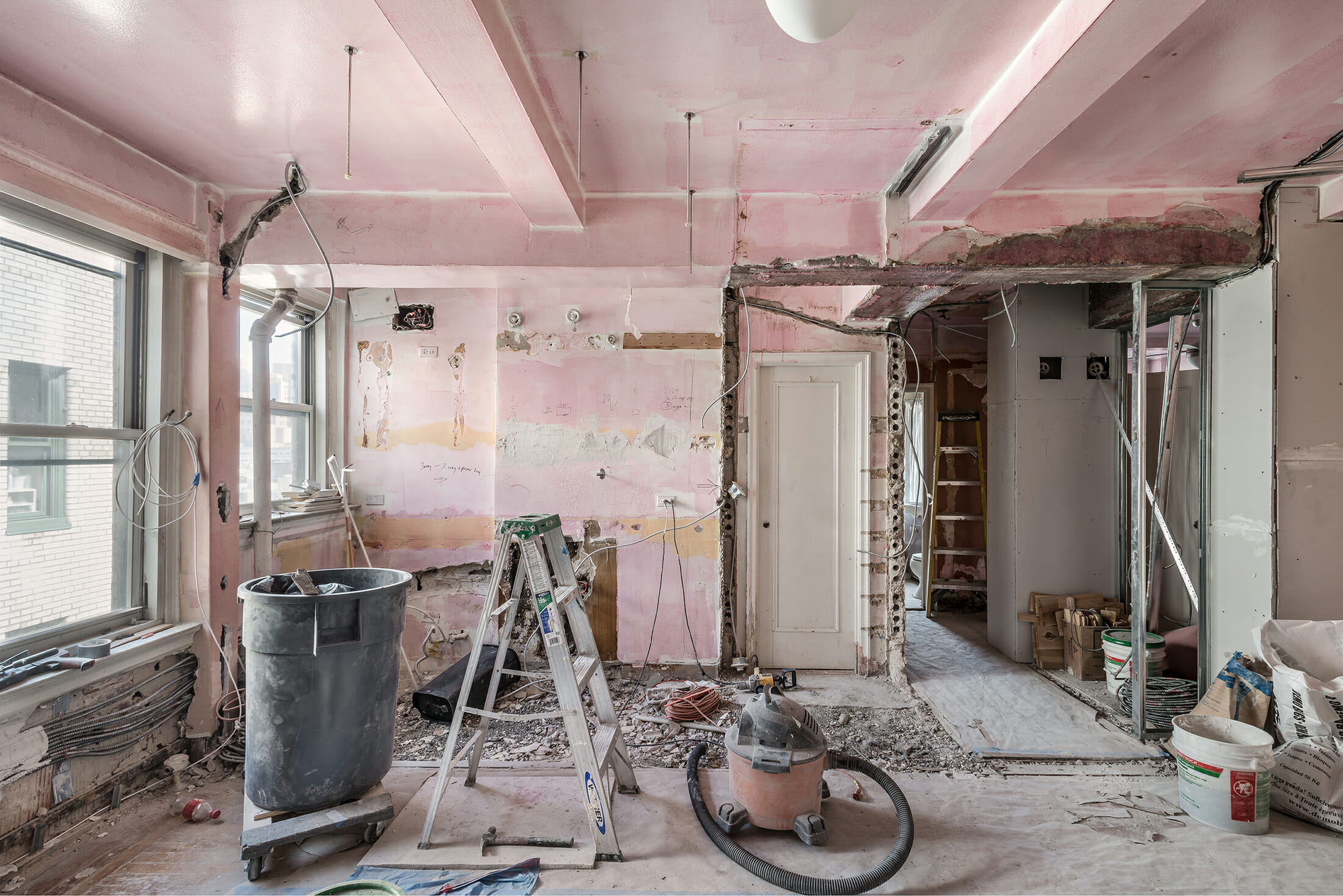 Tips for cleaning your home after a major   renovation