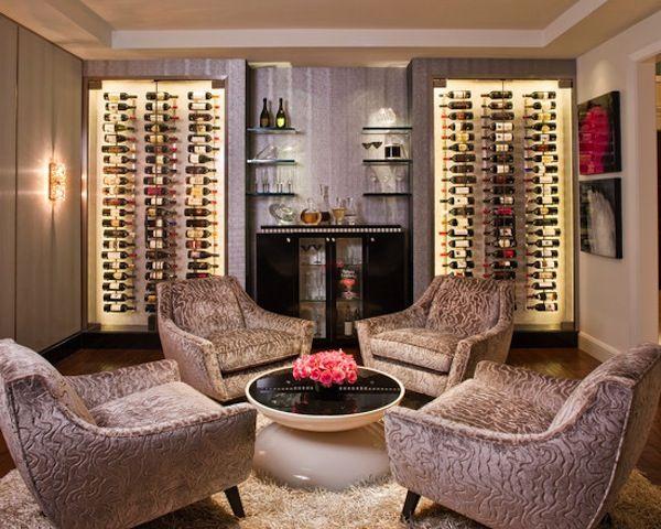 A wine tasting room - Wine Room Design Inspiration and Storage .