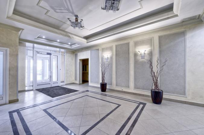 Interior Design Tips for a Welcoming Apartment Lobby   LoveToKn