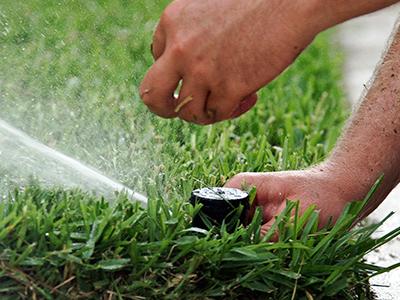 Irrigation System Maintenance - Gardening Solutions - University .