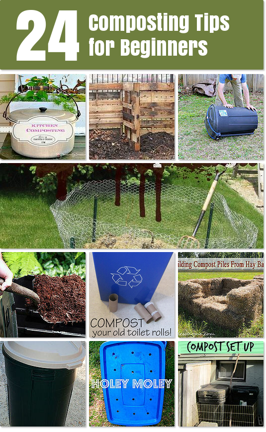 Composting Tips for Beginners Idea Box by Survival At Home .