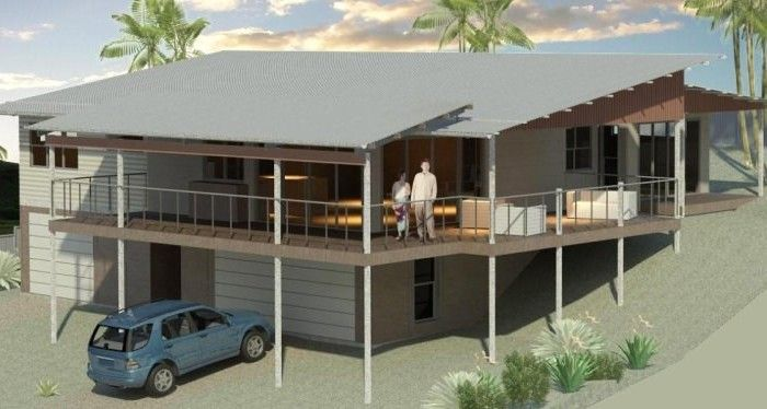 Sloping Block House Designs | Bush and Beach Homes | Houses on .