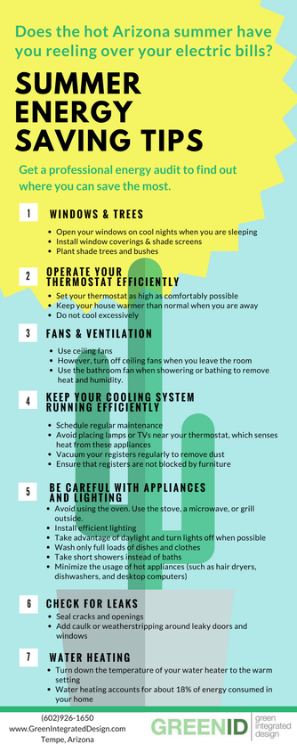 Summer Energy Saving Tips. Simple and inexpensive actions can help .