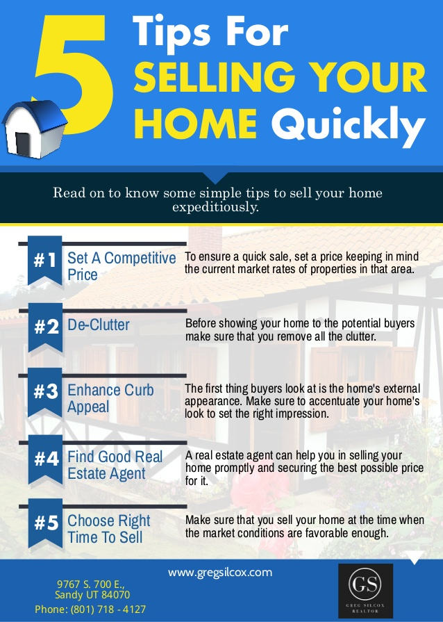 Top 10 tips to sell your home quickly