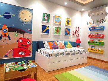 Robots Boys Curtains Design Ideas, Pictures, Remodel and Decor .
