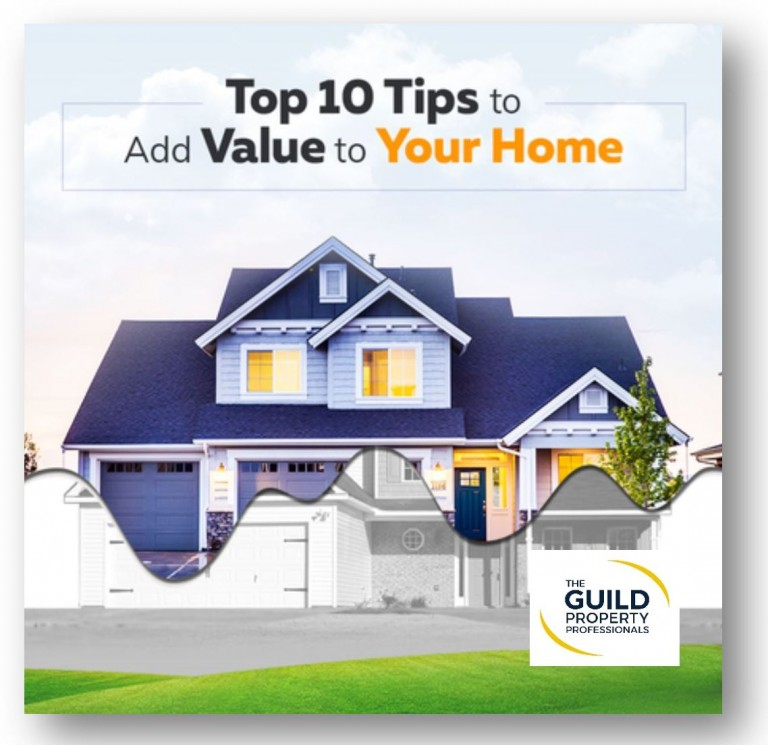Top 10 tips to add value to your home