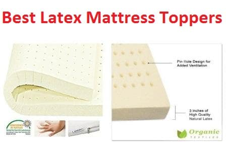 Top 15 Best Latex Mattress Toppers in 20