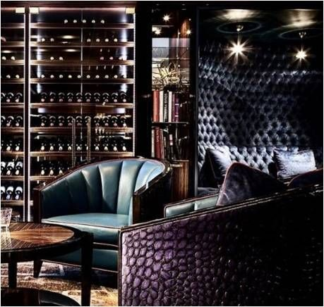 designinspiration; Elegant Home Bars & Wine Cellers For luxe .