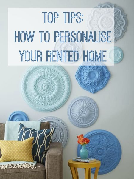 Top Tips: Personalising a Rented Home | Decor, Rental decorating .