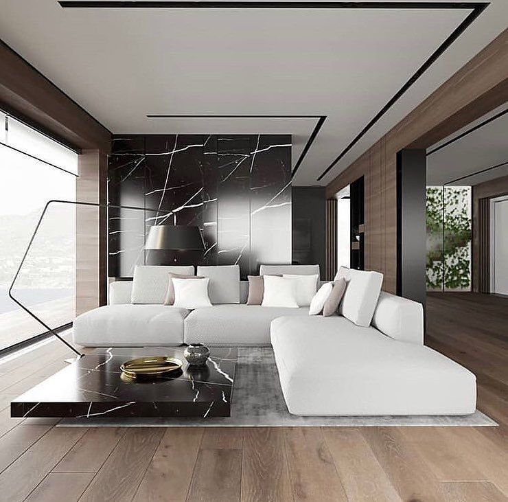 Trendy design ideas to give your living   room luxury