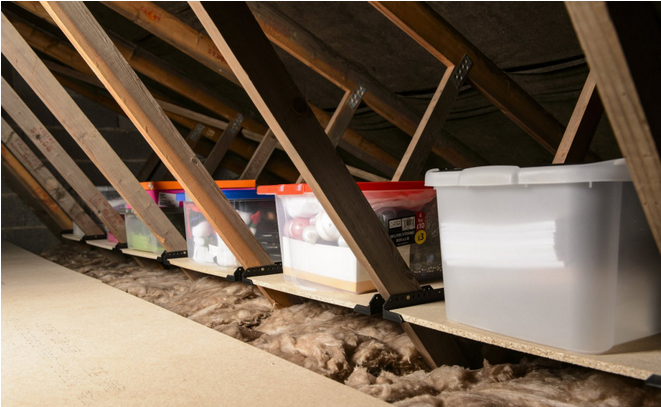 9 Tricks to Turn an Unfinished Attic Into a Practical Storage .