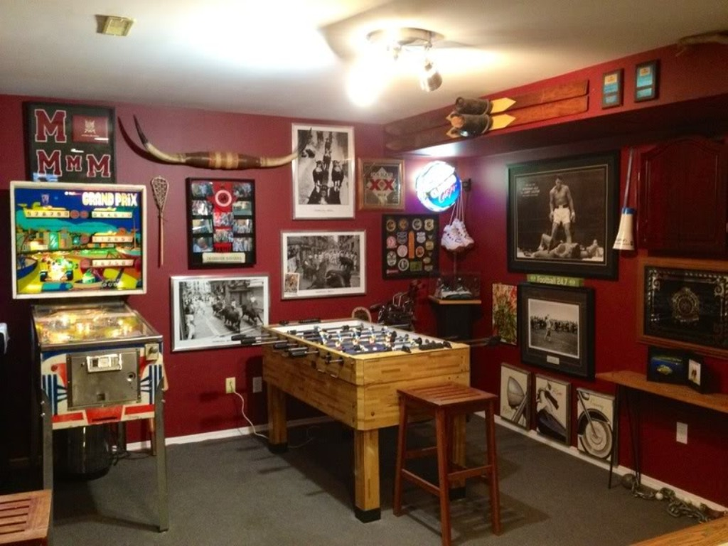 Are you turning your basement into a   playroom?  Do that first!
