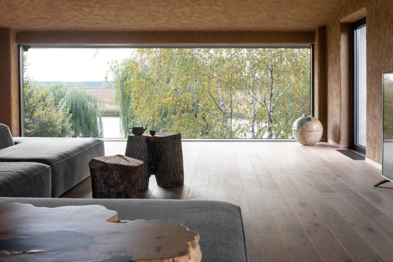 A Ukrainian Apartment Takes Notes from Wabi-Sabi - Design Mi