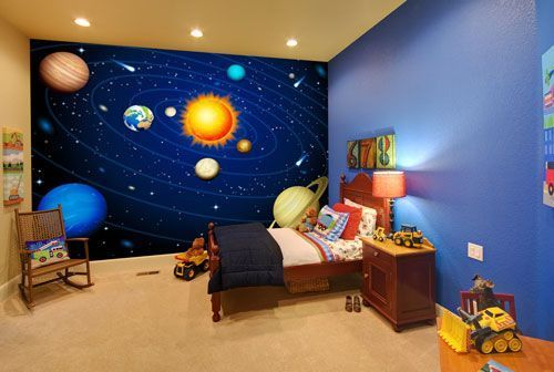 20+ Wondrous Space Themed Bedroom Ideas You Should Try | Space .