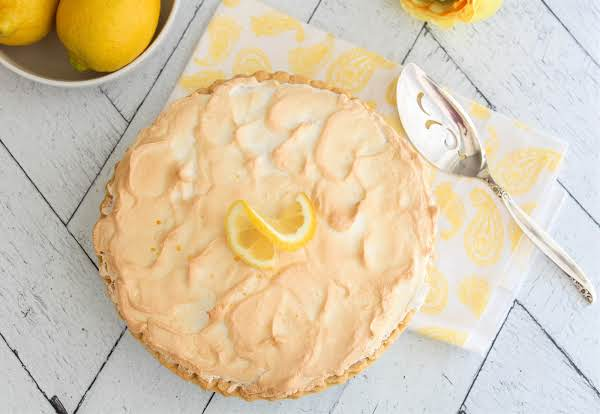 Mom's Easy Lemon Meringue Pie | Just A Pinch Recip