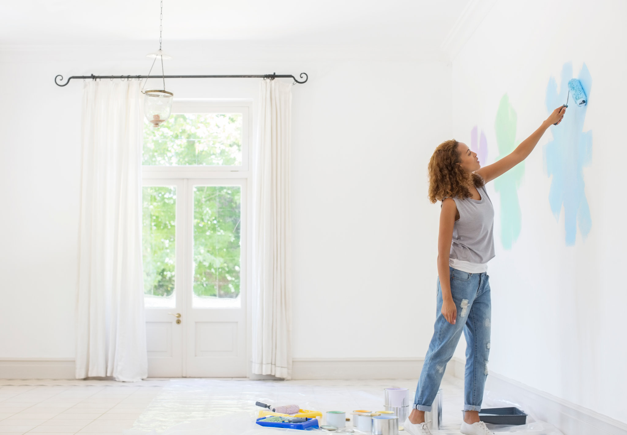 Would you like to paint your own   interior? Here's what you need to know