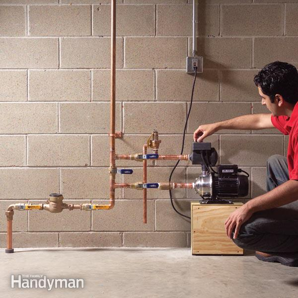 How to Increase Water Pressure in Your House | The Family Handym