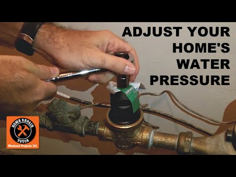 How to Test and Adjust Your Home's Water Pressure - YouTu