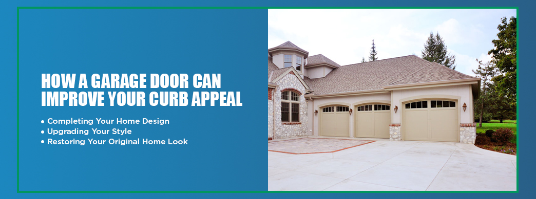 How to Improve Curb Appeal With Your Garage Door | Banko Overhead .