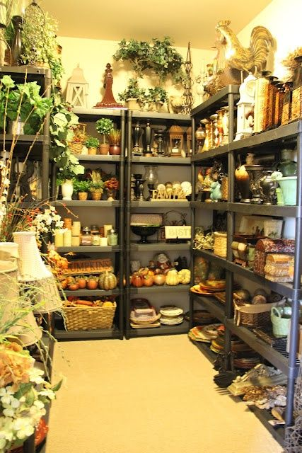 Accessory storage.. Shopping in your own home for your seasonal .