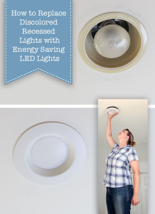 How to Update Ugly Recessed Can Lights with Energy Efficient LED .