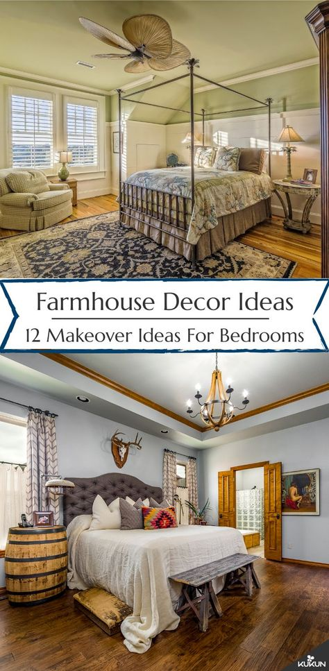 12 Farmhouse Master Bedroom Makeover Ideas for Your Home | Master .