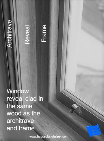 Window reveal design in 2020 | Window reveal, Floor plan symbols .