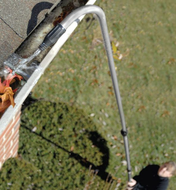 How to Clean Gutters from the Ground - DIY | PJ Fitzpatri