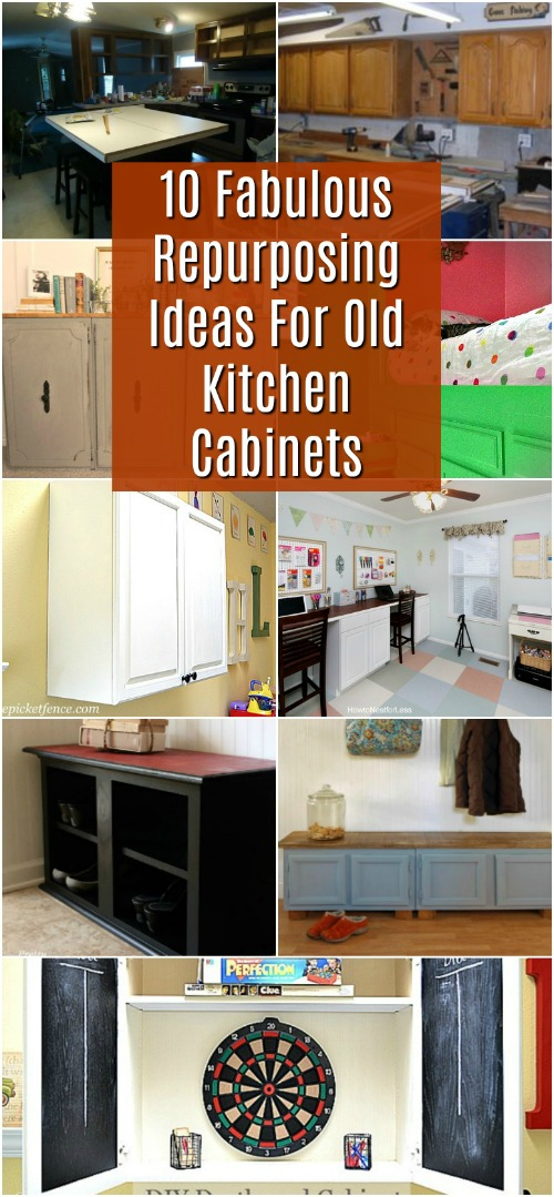 What to do with old kitchen cupboards?
